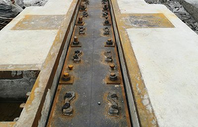 Crane rail clips