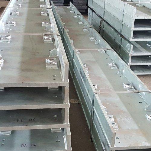 Galvanised soleplates